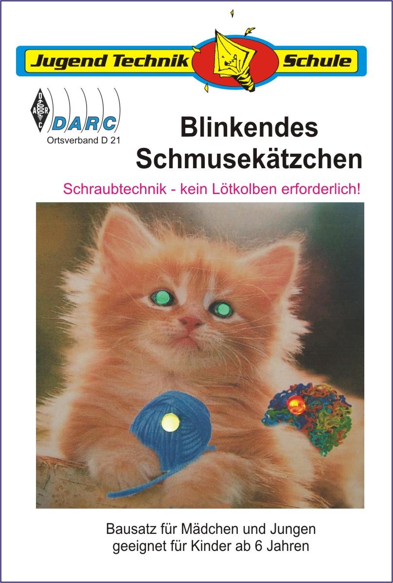 Foto Kätzchen Mit Leuchtdioden